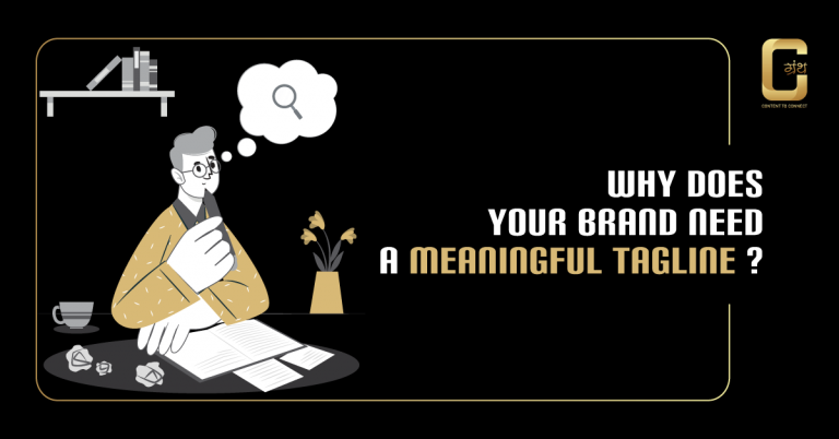 Why does your brand need a meaningful tagline?