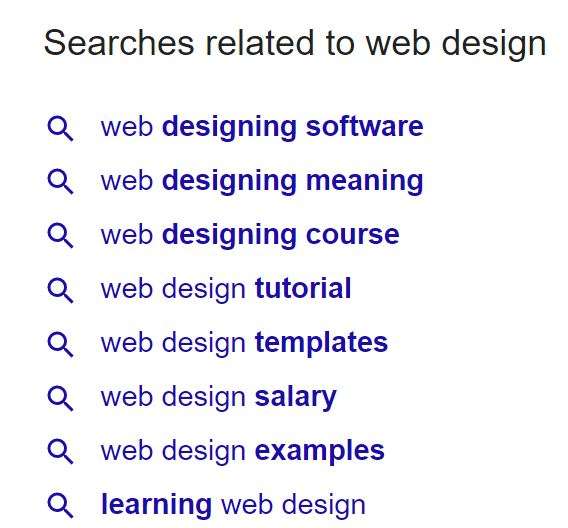 web design related query