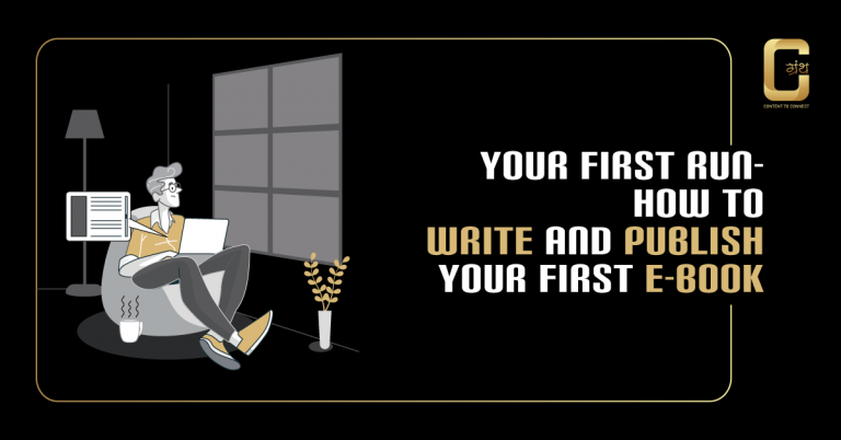 Your First Run – How to write and publish your first E-book
