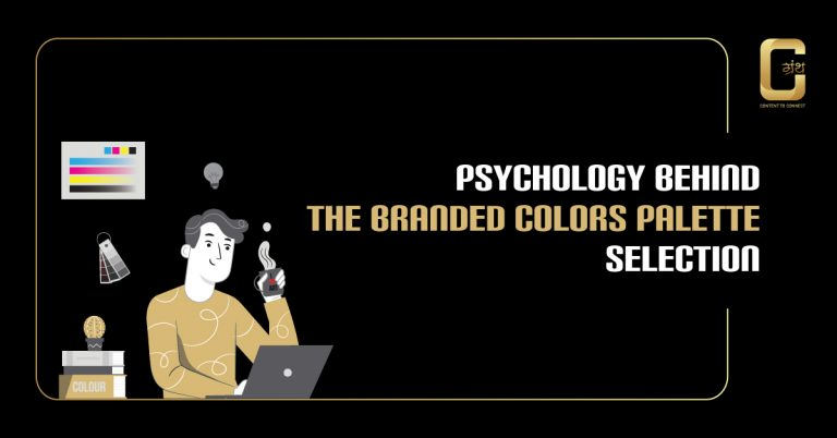 Psychology behind the Branded colors palette selection In 2020