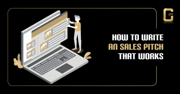 How to Write an sales Pitch that Works