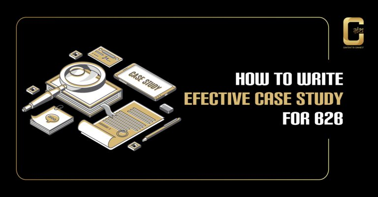 How To Write Effective Case Study For B2B
