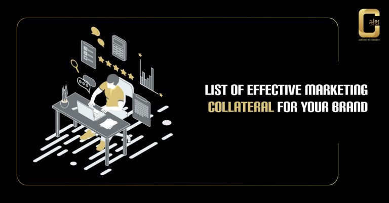 List of Effective Marketing Collateral for your Brand in 2020