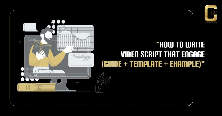 How to write powerful video script that engage (Guide + Template + Example) 2020