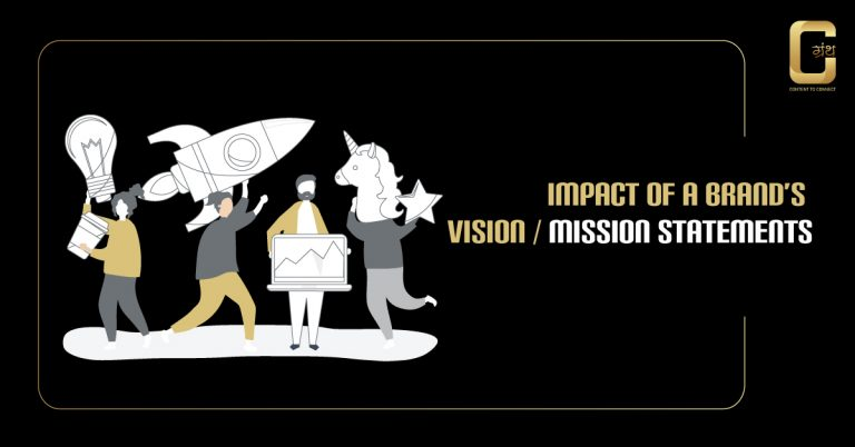 Impact of a Brand's vision / mission statements (2020)
