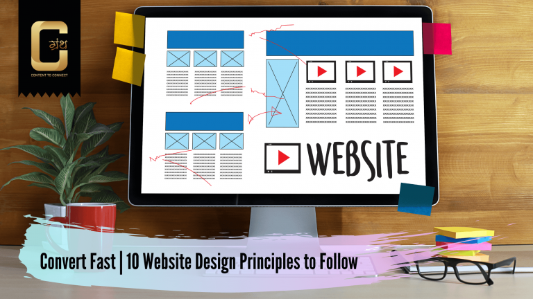 Convert Fast | 10 Website Design Principles to Follow